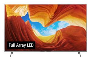 SONY KD-55XH9077,  LED TV, Silber