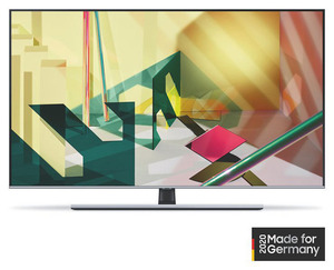 SAMSUNG GQ65Q77T,  QLED TV, Nachtschwarz
