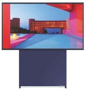 SAMSUNG GQ43LS05TAUXZG The Sero,  QLED TV, Navy Blue