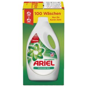 Ariel Vollwaschmittel Flüssig 2,75l, 100WL