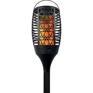 LED Solar Gartenfackel, versch. Designs