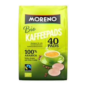 MORENO     Bio-Kaffeepads, Fairtrade