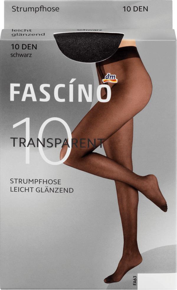 FASCÍNO Strumpfhose Super Touch 10 den, schwarz, Gr. 38/40
