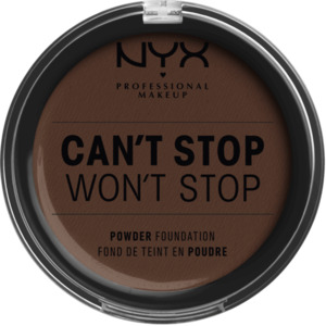 NYX PROFESSIONAL MAKEUP Foundation Can't Stop Won't Stop Full Coverage Powder Foundation Deep Espresso 24