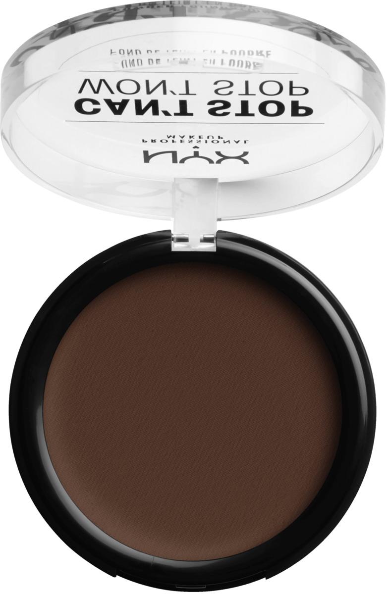 Bild 3 von NYX PROFESSIONAL MAKEUP Foundation Can't Stop Won't Stop Full Coverage Powder Foundation Deep Espresso 24