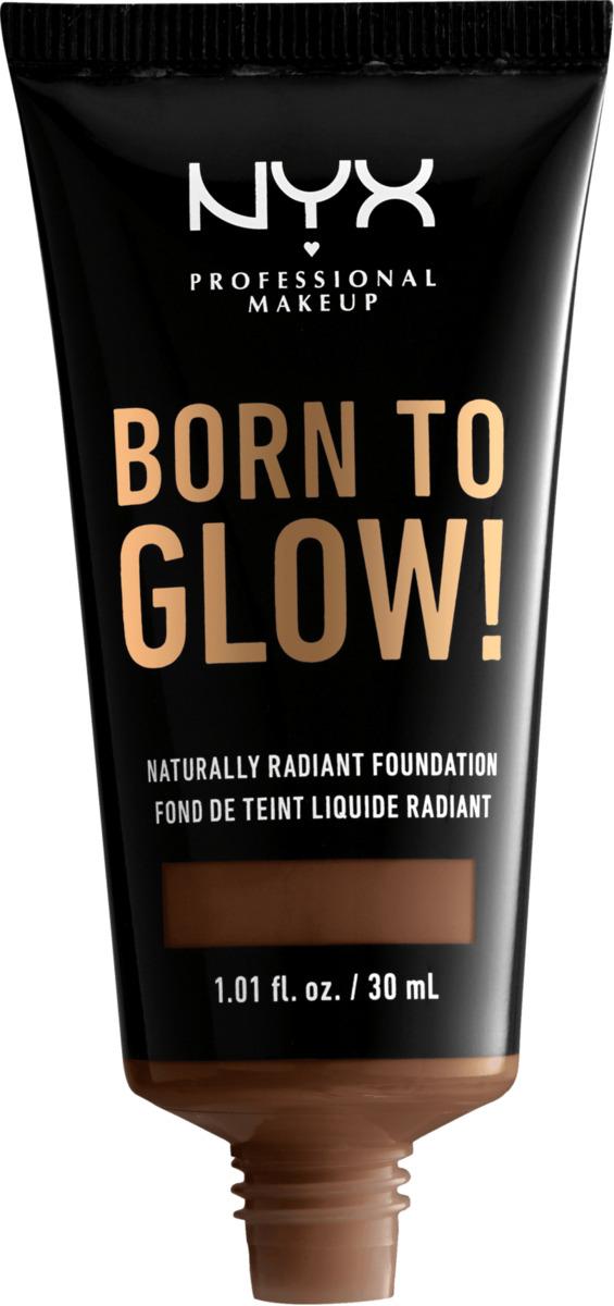 Bild 2 von NYX PROFESSIONAL MAKEUP Make-up Born To Glow Naturally Radiant Foundation Deep Rich 20