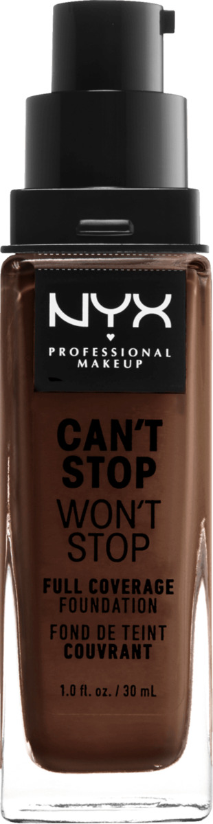 Bild 2 von NYX PROFESSIONAL MAKEUP Make-up Can't Stop Won't Stop 24-Hour Foundation deep espresso 24