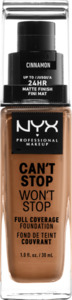 NYX PROFESSIONAL MAKEUP Make-up Can't Stop Won't Stop 24-Hour Foundation cinnamon 15.5