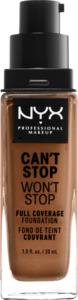 NYX PROFESSIONAL MAKEUP Make-up Can't Stop Won't Stop 24-Hour Foundation warm honey 15.9