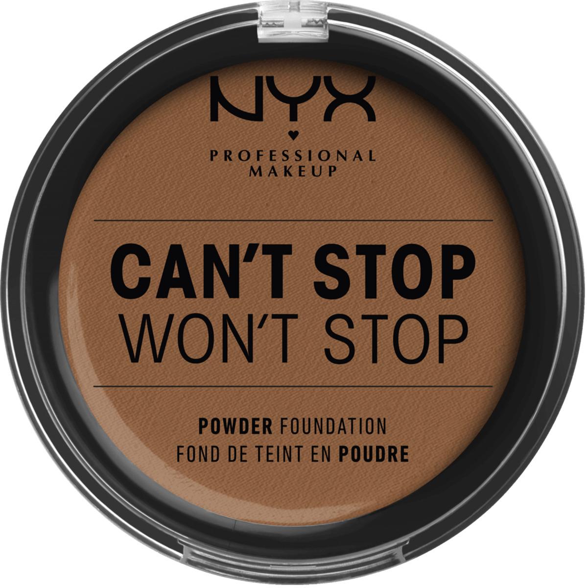Bild 1 von NYX PROFESSIONAL MAKEUP Foundation Can't Stop Won't Stop Full Coverage Powder Foundation Cappuchino 17