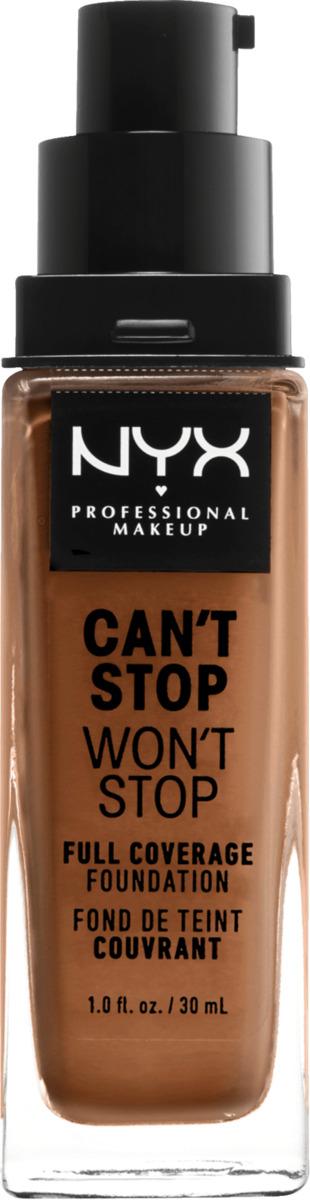 Bild 1 von NYX PROFESSIONAL MAKEUP Make-up Can't Stop Won't Stop 24-Hour Foundation honey 15.8