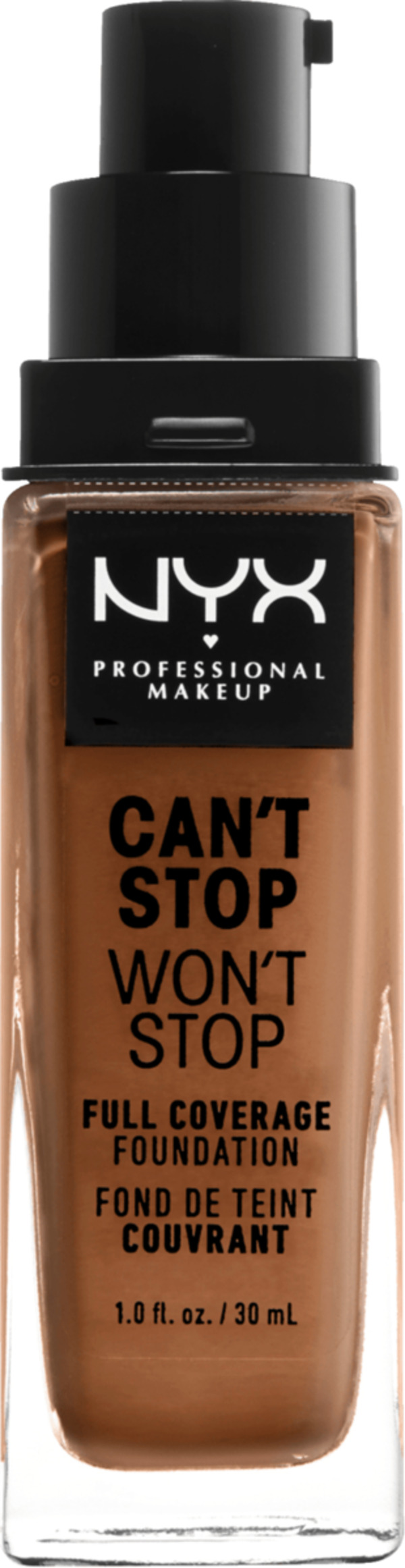 NYX PROFESSIONAL MAKEUP Make-up Can't Stop Won't Stop 24-Hour Foundation honey 15.8
