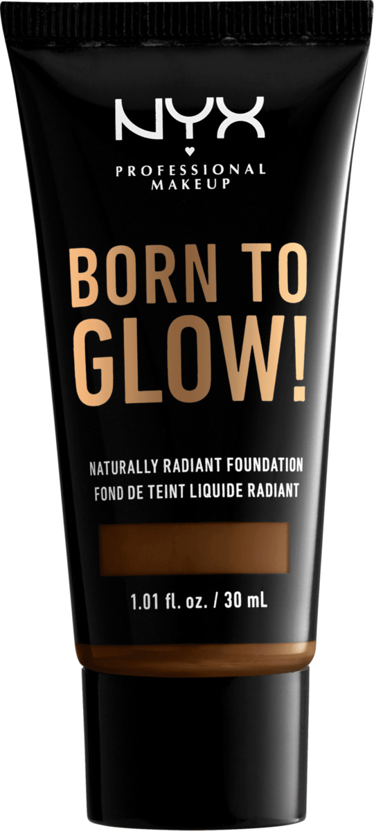 Bild 2 von NYX PROFESSIONAL MAKEUP Make-up Born To Glow Naturally Radiant Foundation Walnut 22.3
