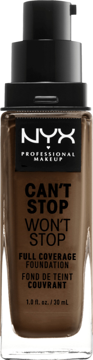 Bild 2 von NYX PROFESSIONAL MAKEUP Make-up Can't Stop Won't Stop 24-Hour Foundation deep cool 22
