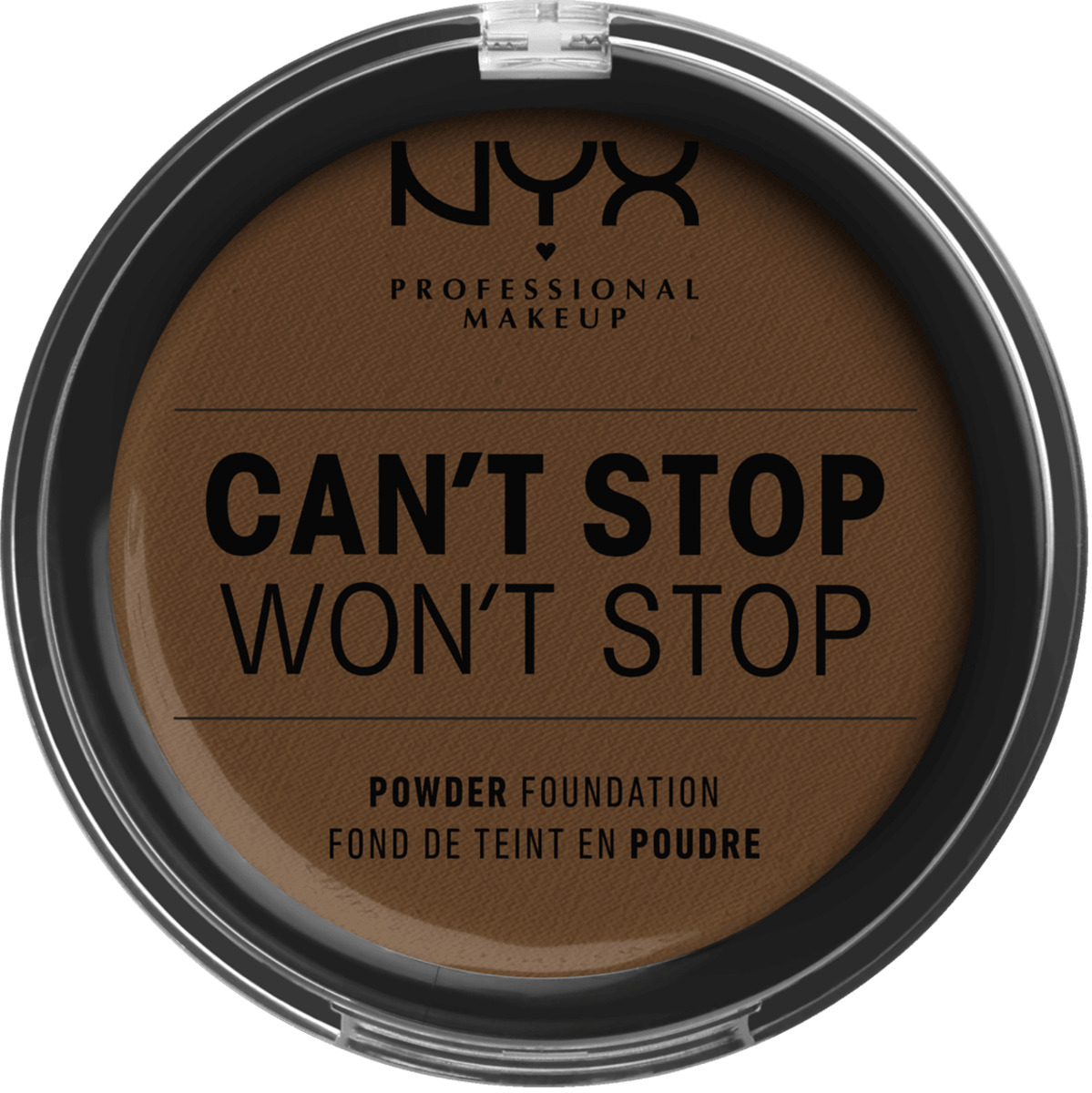 Bild 1 von NYX PROFESSIONAL MAKEUP Foundation Can't Stop Won't Stop Full Coverage Powder Foundation Walnut 22.3
