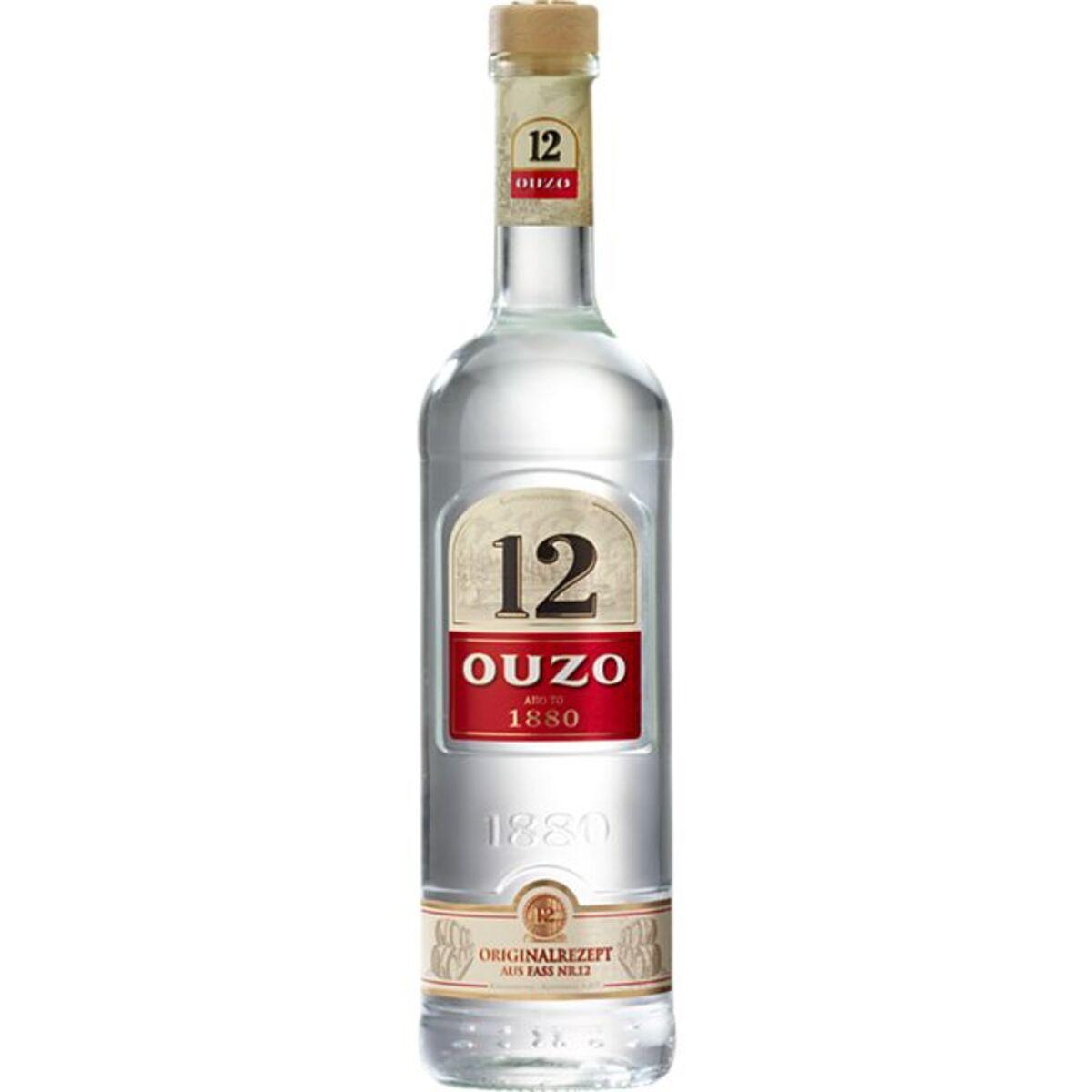 Bild 1 von Ouzo 12 38,0 % vol 0,7 Liter