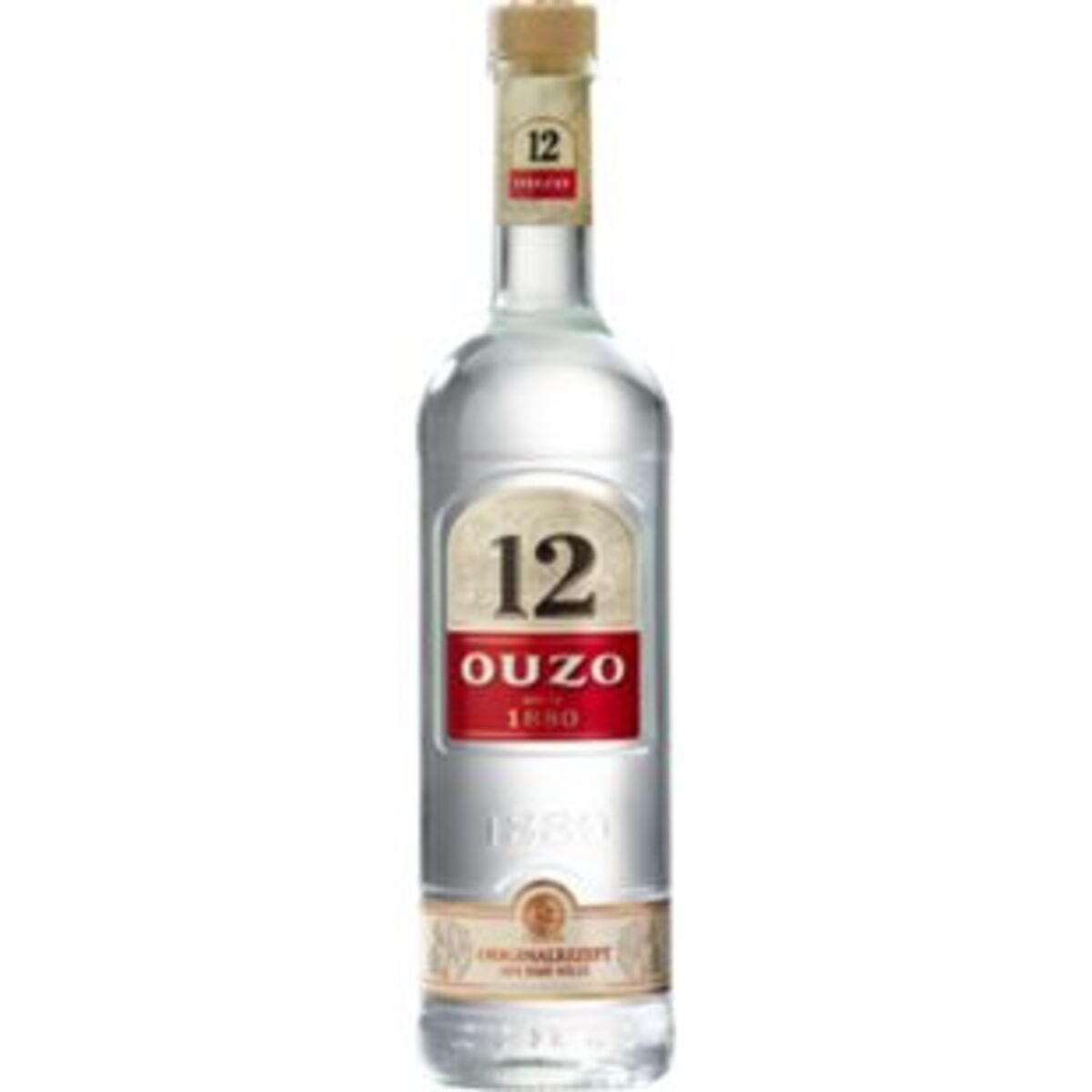 Bild 2 von Ouzo 12 38,0 % vol 0,7 Liter
