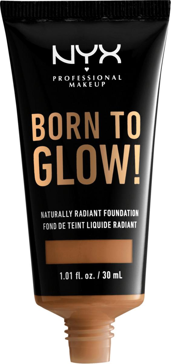 Bild 1 von NYX PROFESSIONAL MAKEUP Make-up Born To Glow Naturally Radiant Foundation Almond 15.3