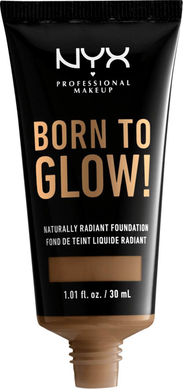 NYX PROFESSIONAL MAKEUP Make-up Born To Glow Naturally Radiant Foundation Deep Sable 18