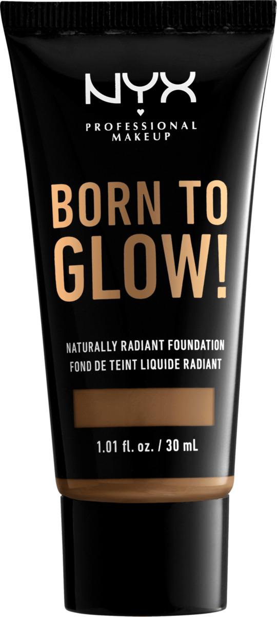 Bild 2 von NYX PROFESSIONAL MAKEUP Make-up Born To Glow Naturally Radiant Foundation Deep Sable 18