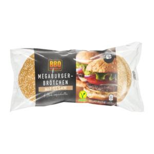 BBQ     Megaburger-Brötchen