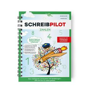 Schreibpilot Lernheft Zahlen - inkl. Bleistift und Radiergummi