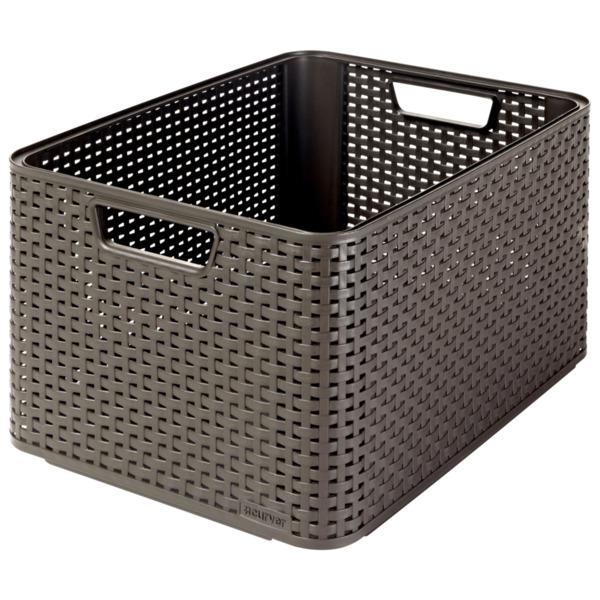 Curver Style Box 2 L dunkelbraun