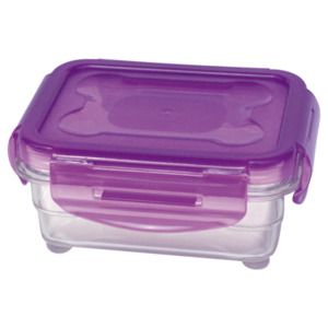 Steuber Cloc Frischhaltedose mit Tritan 330ml Lila lila/transparent