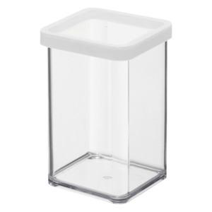 Rotho Premium Dose Loft 1l Transparent/Weiß