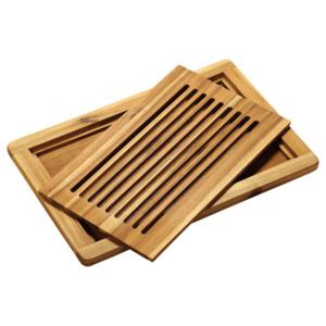 Kesper Tranchierbrett aus FSC-zertifiziertem Akazienholz