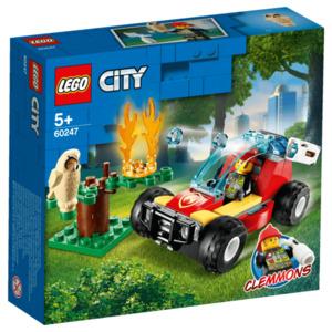 Lego City Waldbrand 84 Teile für Jungen