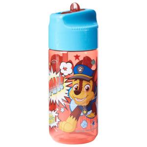 Frozen Trinkflasche mit Strohhalm Blau 430ml rot