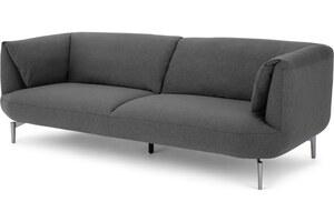 Inka 3-Sitzer Sofa, Marlgrau - MADE.com