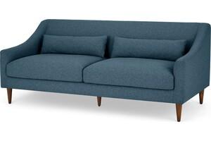 Herton 3-Sitzer Sofa, Orleansblau - MADE.com