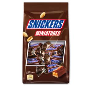 SNICKERS-, MARS-, TWIX- oder BOUNTY-Miniatures