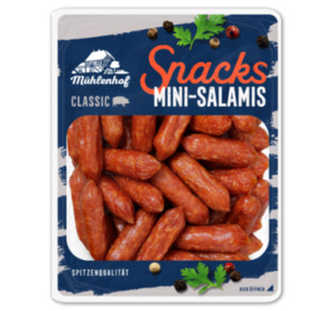 MÜHLENHOF Snacks Mini-Salamis