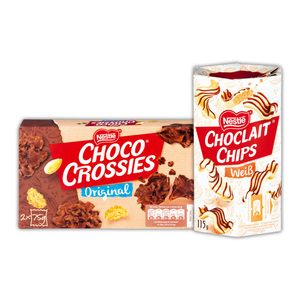 Nestlé Choco Crossies / Choclait Chips