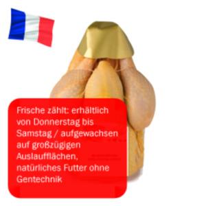 Französisches frisches Maishähnchen