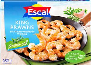 ESCAL  King Prawns Provençal oder Natur