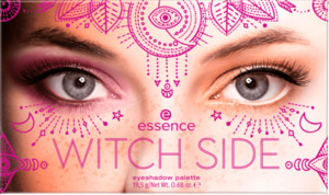 essence cosmetics Lidschattenpalette WITCH SIDE eyeshadow palette