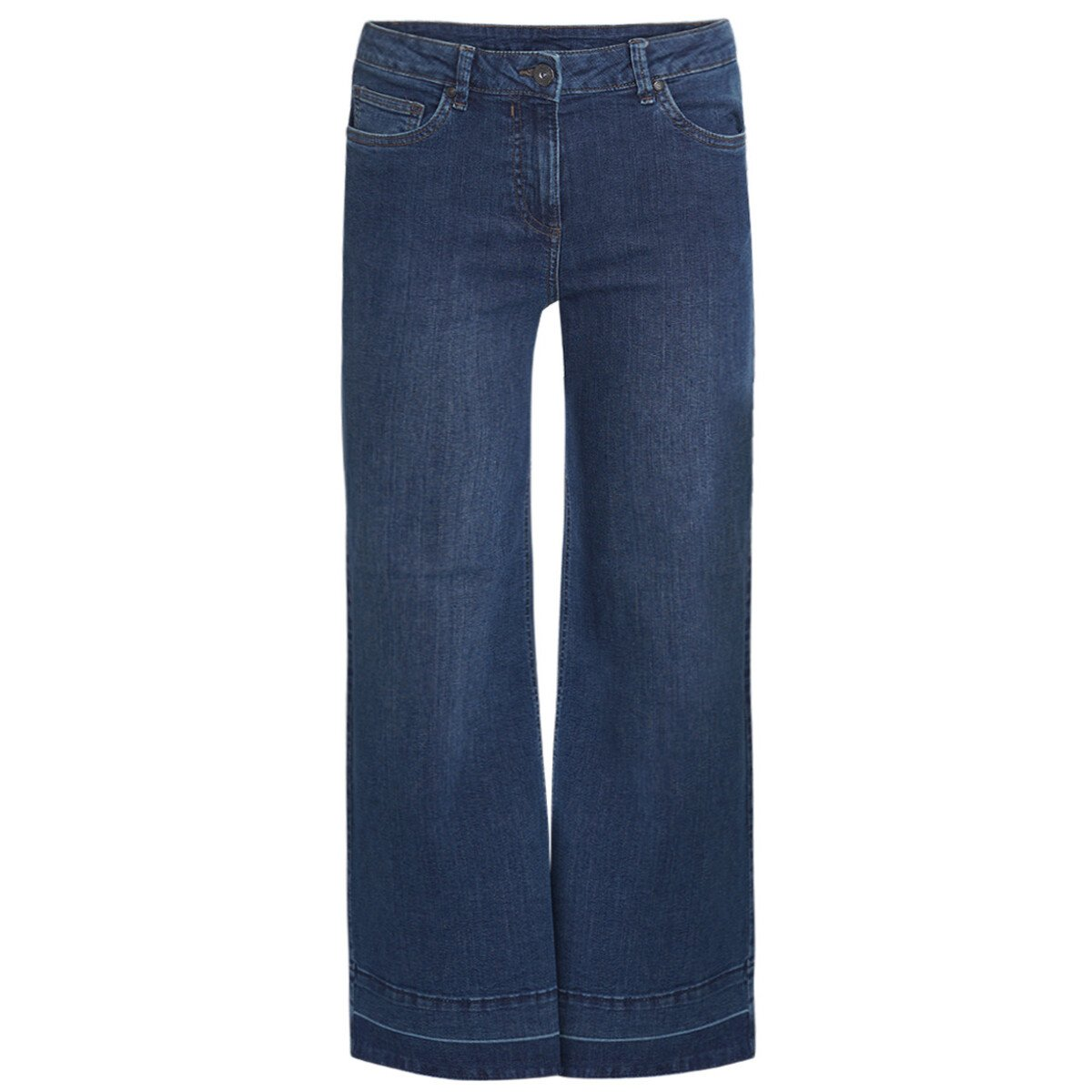 Bild 1 von Damen Jeans mit weitem Schnitt