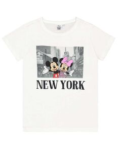 Mädchen T-Shirt mit Mickey & Minnie-Print