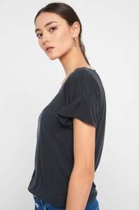 Shirt mit Rüschen