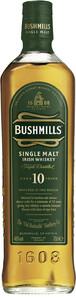 Bushmills 10 Jahre Single Malt Irish Whiskey 0,7 ltr