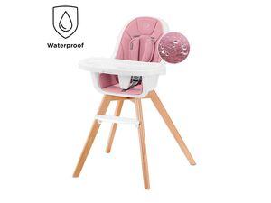 Kinderkraft 2in1 Hochstuhl »Tixi«, Hochstuhl und Stuhl, verstellbares Doppeltablett