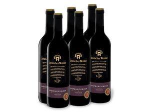 6 x 0,75-l-Flasche Weinpaket Deutsches Weintor EXCLUSIV Spätburgunder QbA trocken, Rotwein