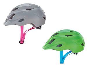 Prophete Kinder Fahrradhelm, Inmold, mit LED-Licht, stufenloses Kopfband-System