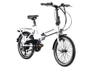 Zündapp CITY Falt E-Bike »Z101«, E-Faltrad, E-Klapprad, E-Stadtfahrrad, Klapp-Fahrrad