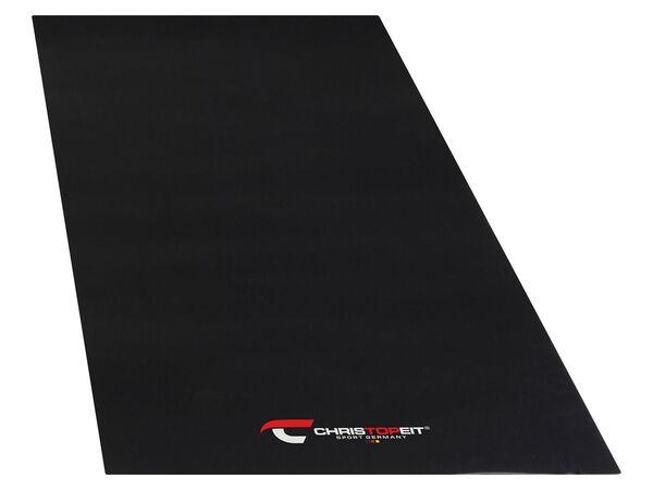 Christopeit Sport Bodenschutzmatte, Unterlegmatten für Fitnessgeräte, in 3 Größen
