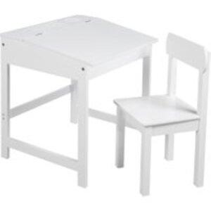 roba Schulpult mit Stuhl weiß